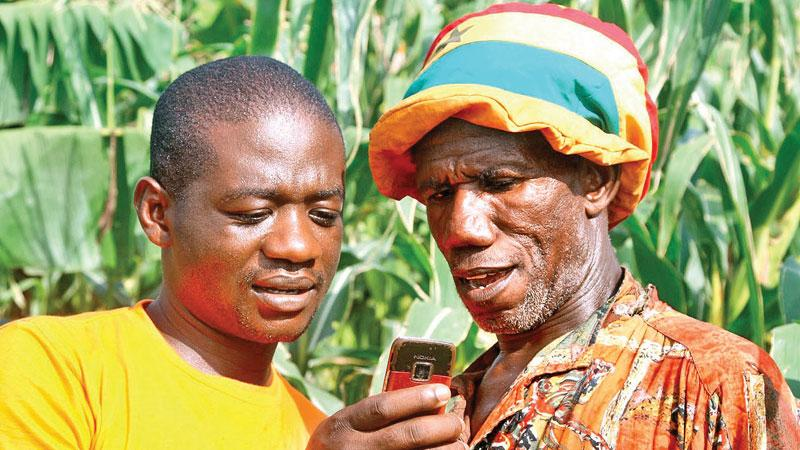 With satellite technology, farmers will be able to get a better idea of climatic conditions that impact on their cultivation.