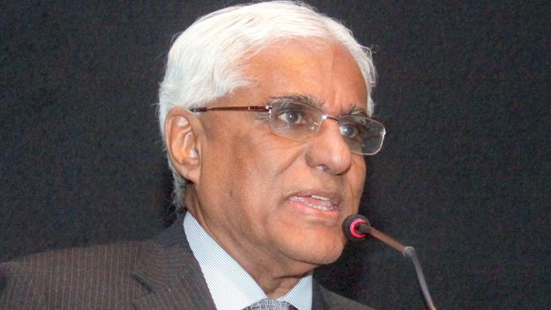 Dr. Indrajit Coomaraswamy   Pic: Chaminda Niroshana