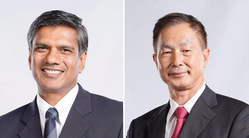 CEO Shrihan Perera and Chairman Bill Lam
