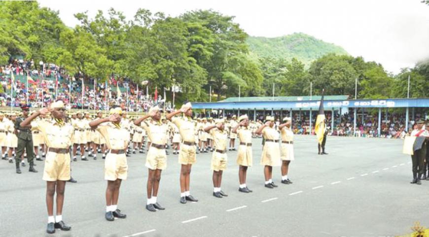 Junior Cadets at the 2018 Championship at Rantambe