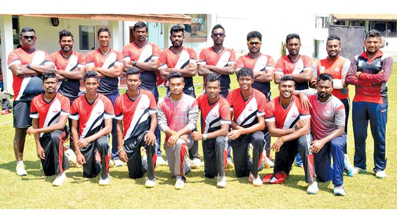 The champion CCC team comprising Ashan Priyanjan (captain), Lasith Abeyratna (vice captain), Minod Bahanuka, Wanindu Hasaranga, Madawa Warnapura, Dilshan Munaweera, Malinda Pushpakumara, Malidu Madauranga, Lahiru Gamage, Lahiru Madusanka, Manelka de Silva, Yuran Nimesh, Heshan Hettiarachchi, Vihan Gunasekara, Yasaruwan Herath, Ron Chandraguptha and Sonal Gamage with Tharanga Dhammika (coach) and Sanjaya Gangodawila (assistant coach)