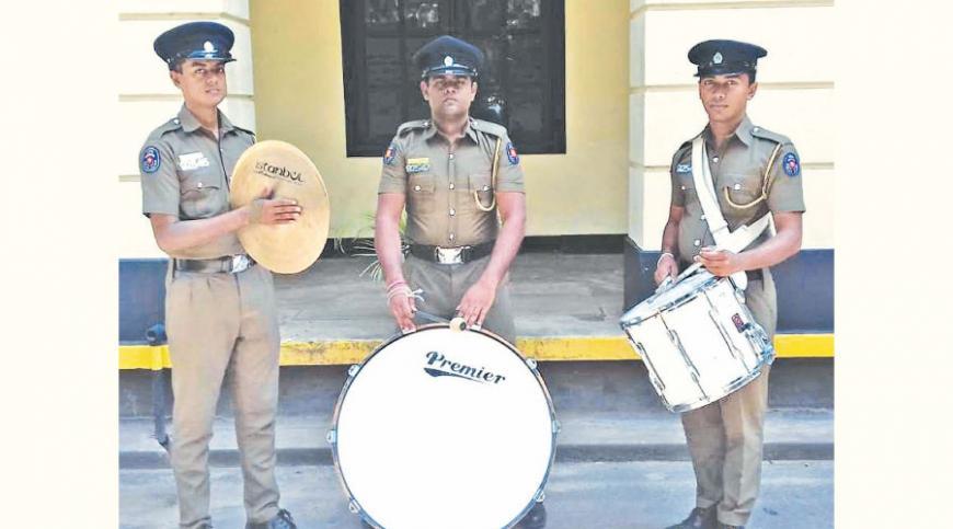 Drummers at practice