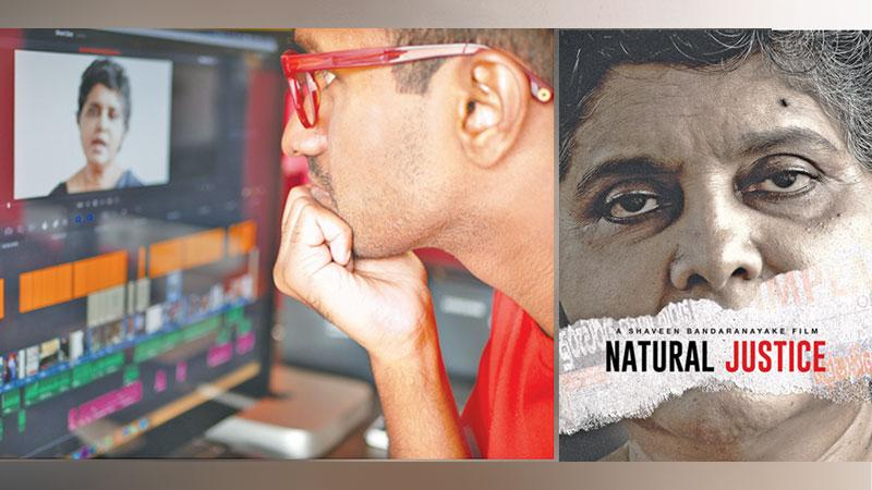 Producer and Director Shaveen Bandaranayake scrubs through timeline to inspect the final cut