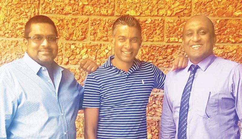 From left: Managing Director, Australian Strategic Partnerships,   Manjula Kulatunga, CEO Thomas Peer Solutions, Udara Dharmadasa and Managing Director of Australian Strategic Partnerships,   Jehan Bastians.