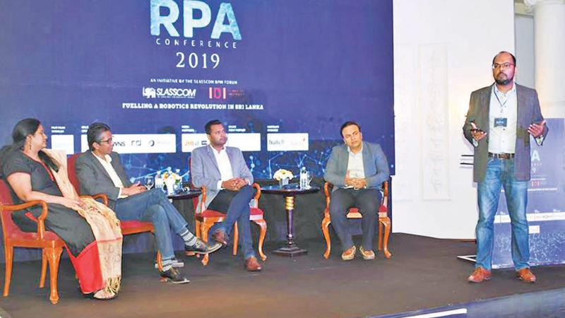 The panel discussion moderated by RRD Operations Manager Srikanthan Jayarajah