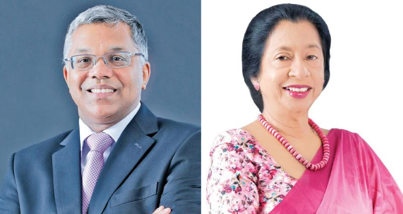 Managing Director and CEO Deepthi Lokuarachchi and Chairperson Rose Cooray