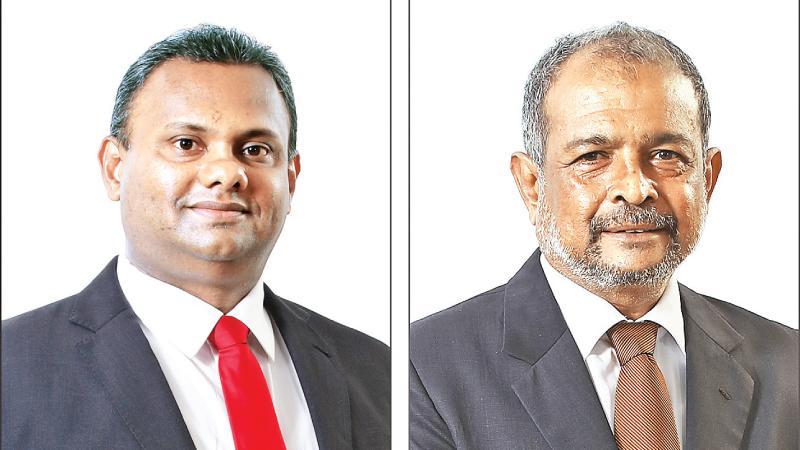 Chairman G.A.R.D Prasanna  & Director / CEO Nimal Tillekeratne