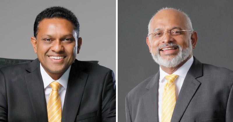 Director/CEO Jude Fernando and Chairman Prakash Schaffter
