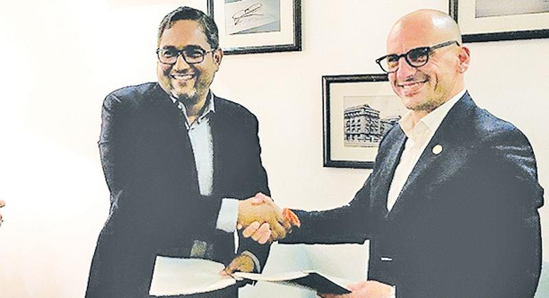 Representatives of the Lanka Fruit and Vegetable Producers, Processors and Exporters Association and Noberasco signed a Memorandum of Understanding in February 2019, marking the start of a partnership.
