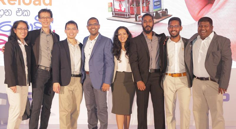 The PayMaster team. Pic: Chaminda Niroshana