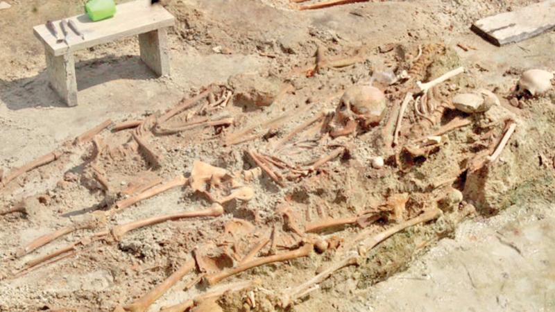 Mannar mass grave site