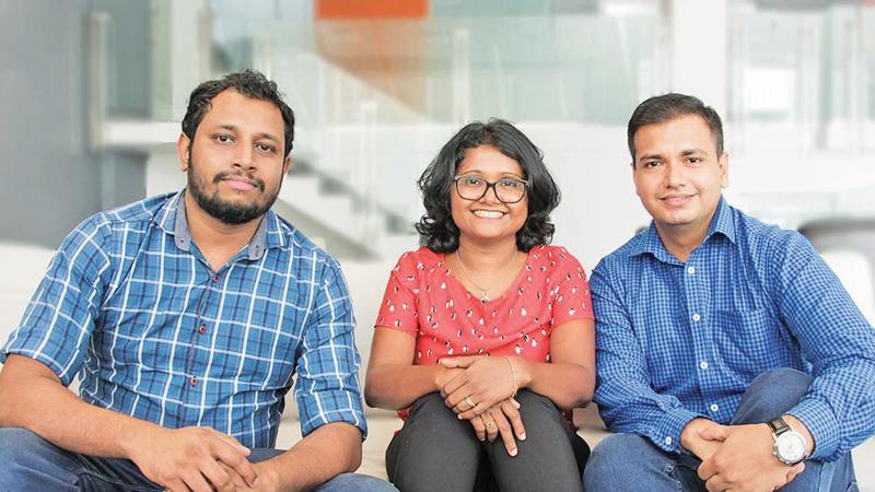From left: Principal Engineer at Pearson, Buddhika Senanayake, Associate QA Manager at LSEG Technology, Dinusha Ramanayake and Senior QE Lead at Sysco Labs, Kishan Navaratne.