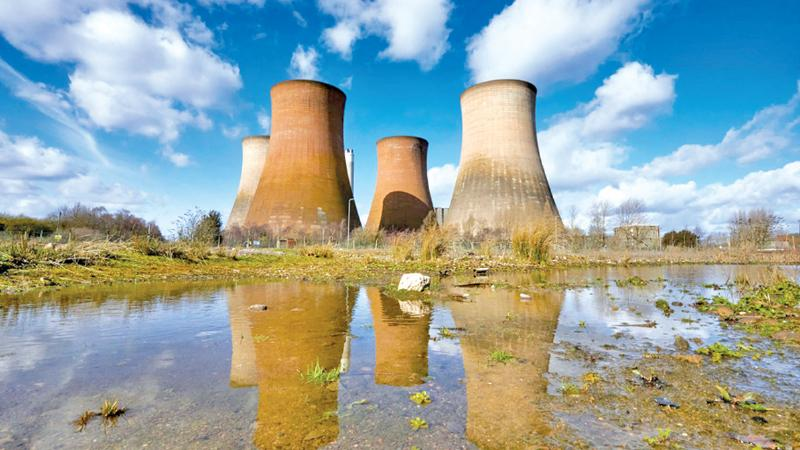 Rugeley power station in Staffordshire is being demolished in phases until 2021. Coal plants are being retired at a record pace globally