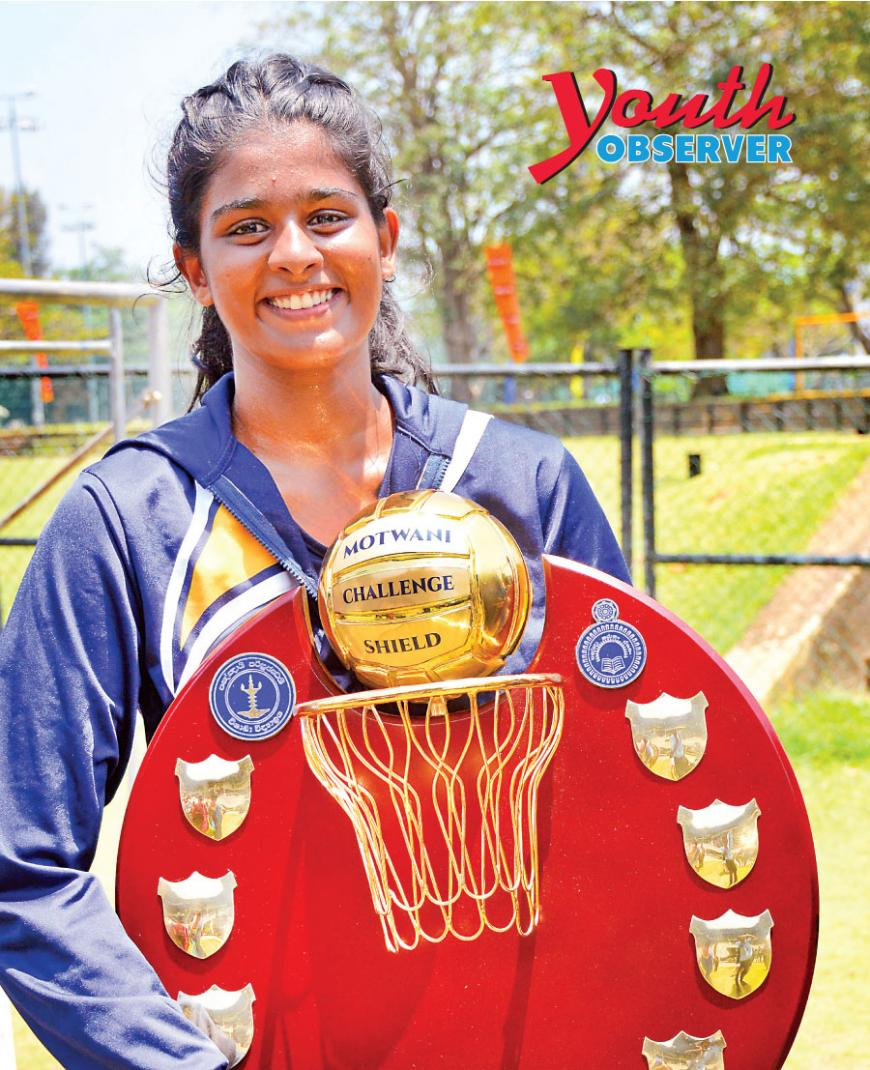 Winning Captain Upani Rupasinghe from Visakha Vidyalaya - Colombo