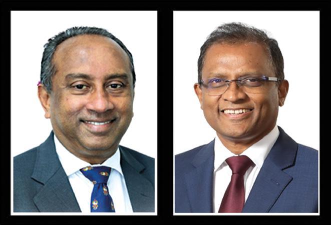 Chairman Ronald C. Perera and CEO and General Manager Senarath Bandara