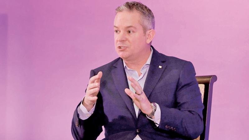 Global CEO of IFS, Darren Roos