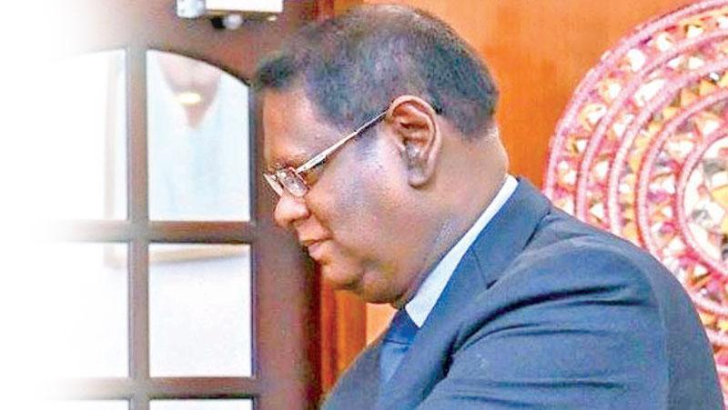 Chief Justice Nalin Perera