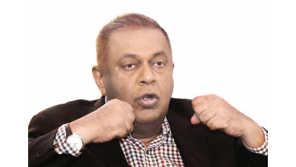 Minister of Finance Mangala Samaraweera