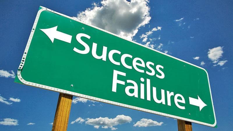 Setbacks are inevitable at any time. Anyone can take a dive – that's quite normal.  Pic: Courtesy rogercpareview.com