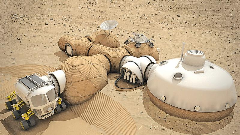 NASA is already selecting designs for Mars habitats in anticipation of a mission to Mars