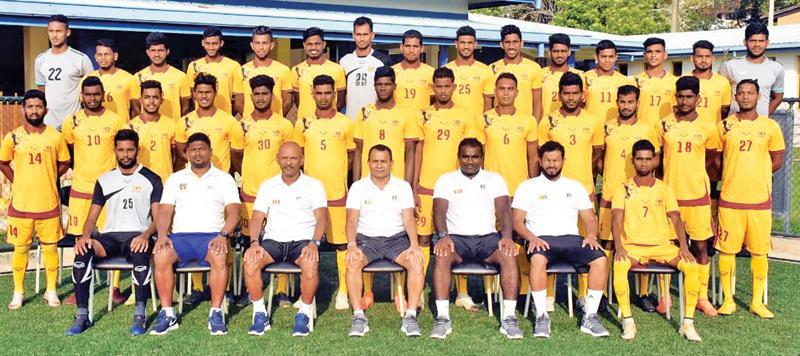 The Pool:  Sujan Perera (Club Eagles, Maldives), Rasik Rishad (Renown SC), Mohamed Luthfi (Army SC), Mohamed Ishan (Solid SC), Manaram Perera (Navy SC), Charitha Ratnayake (Colombo FC), Duckson Piuslas (New Youngs FC), Mariyathas Nitharshan (Renown SC), Kavindu Ishan (Air Force SC), Harsha Fernando (Air Force SC), Mohamed Fazal (Colombo FC), Jude Suman (Renown SC), Dilhara Jayasekara (Ratnam SC), Pathum Vimukthi (Red Sun SC), Shabeer Razooniya (Police SC), Mohamed Shaheel (Navy SC), Mohamed Aakib (Renown SC