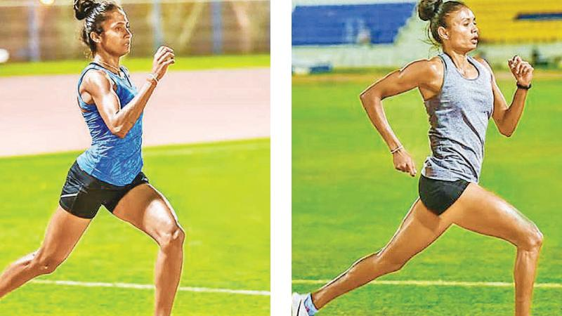 Gayanthika Abeyratna and Nimali Liyanarachchi two 800m athletes not up to expectations at the Asian Championships