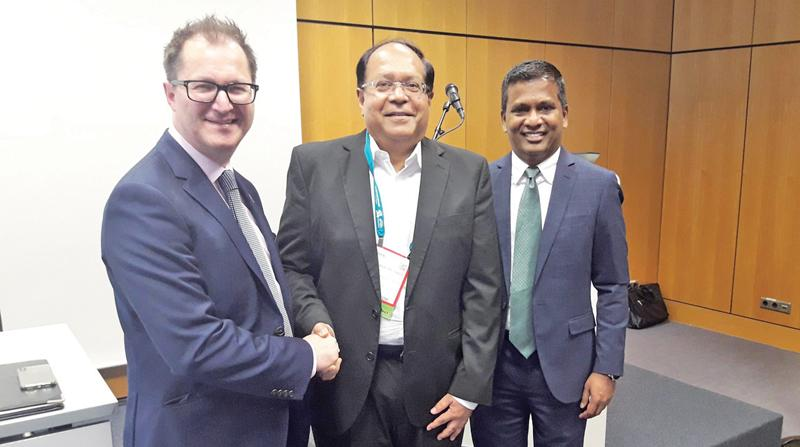 From left: President, ICCA, James Rees, Chairman, SLCB, Kumar de Silva and CEO, ICCA, Senthil Gopinath.