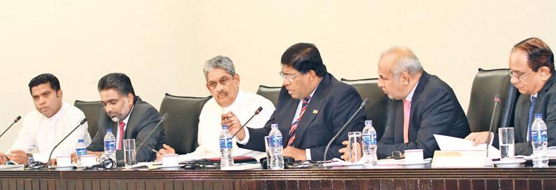 Members of the PSC. Pic: Sulochana Gamage