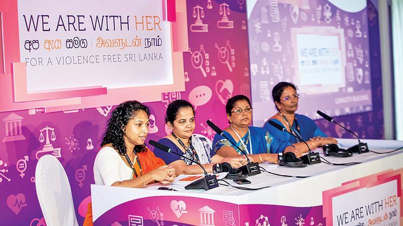 The UNFPA gender program team.