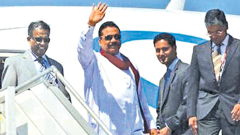 In 2009, President Mahinda Rajapaksa hand-picked Prasad Kariyawasam (Left) to serve as Sri Lanka's High Commissioner to New Delhi (File photo)