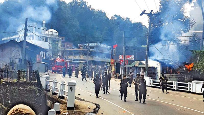 Anti-Muslim riots at Digana, March 2018  file photo