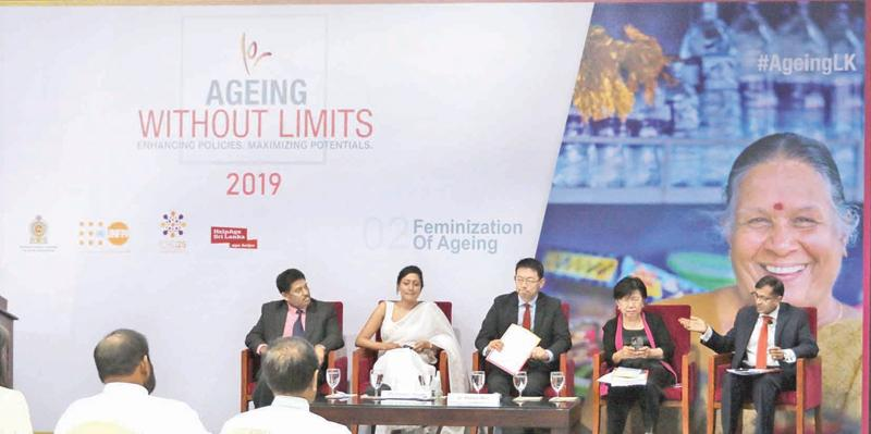 The panellists at the discussion