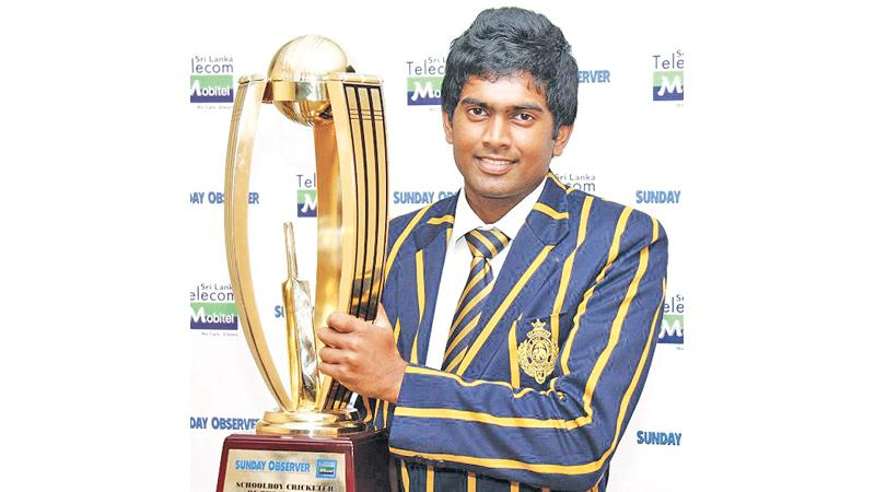 Bhanuka Rajapakse, who won the Observer-Mobitel Schoolboy Cricketer of the   Year twice, has a message for the selectors
