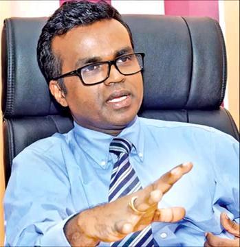 Deputy Minister of Skills Development and Vocational Training, Karunarathna Paranawithana