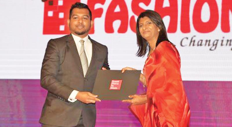 Director, Fashion Bug, Shabier Subian and Director/CEO, Great Place to Work Sri Lanka Kshanika Ratnayaka.