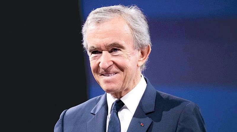 Bernard Arnault attends a conference during Viva Technology at Parc des  Expositions Porte de Versailles on June 16, 2017 in Paris, France.- Getty Images