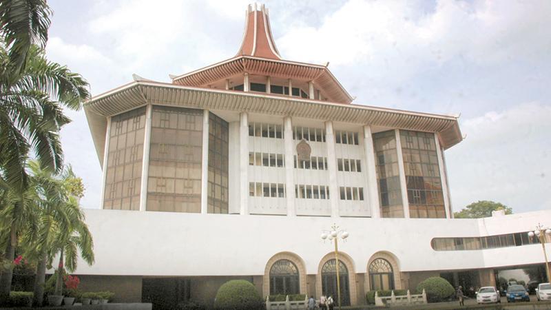 The Supreme Court complex -File pic