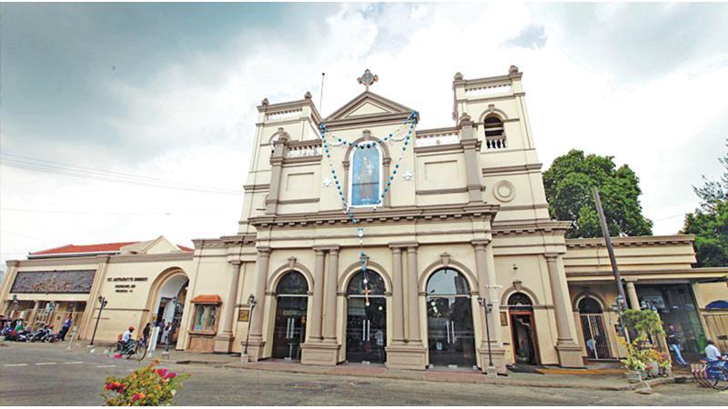 St. Anthony's Church, Kochchikade                                                                          File pic.