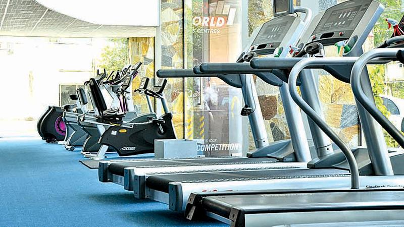 A section of a gym at Power World