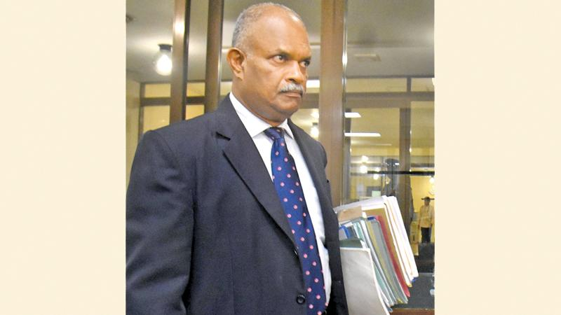 Director CID, SSP Shani Abeysekara   Pic: Gayan Pushpika
