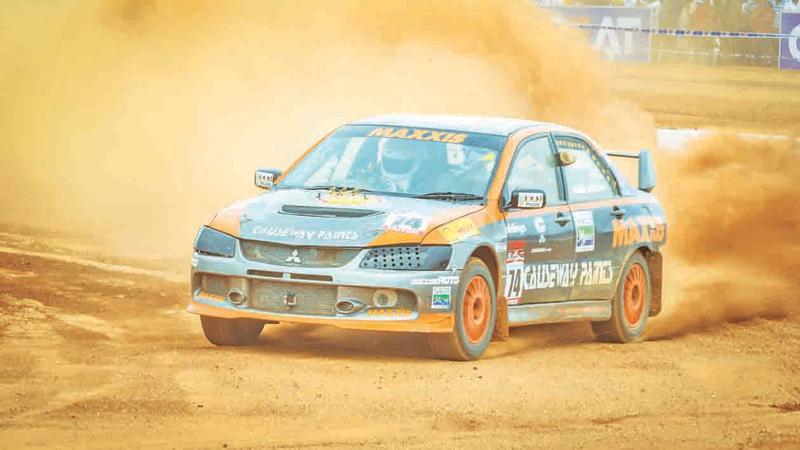 Ashan Silva drives to victory