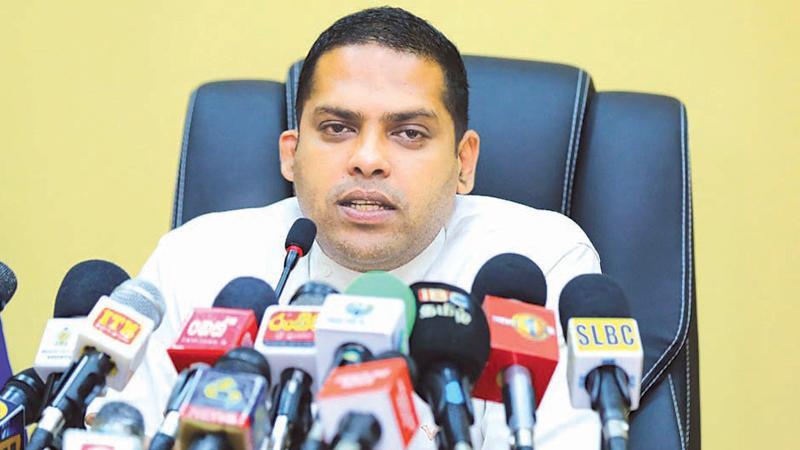 Sports Minister Harin Fernando