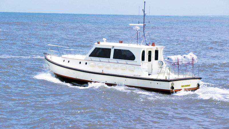 A vessel built by the local boat building industry.