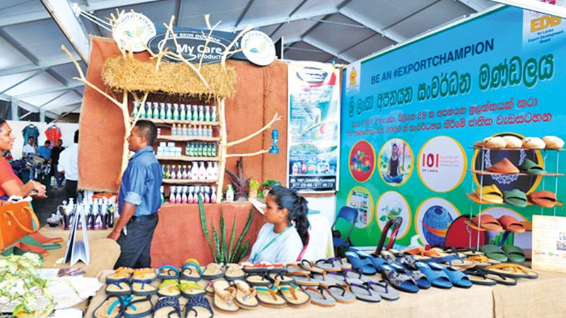 One of the stalls organised by the EDB.