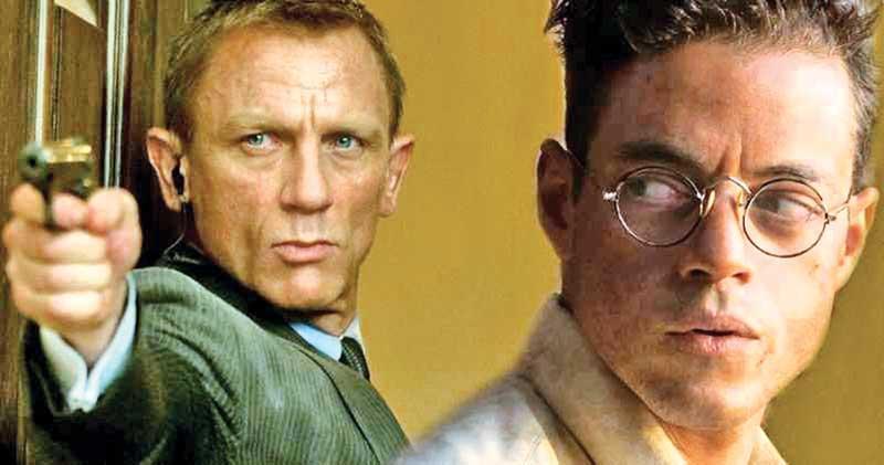 'Bond 25' is filming across London and Daniel Craig is everywhere and Rami Malek as villain
