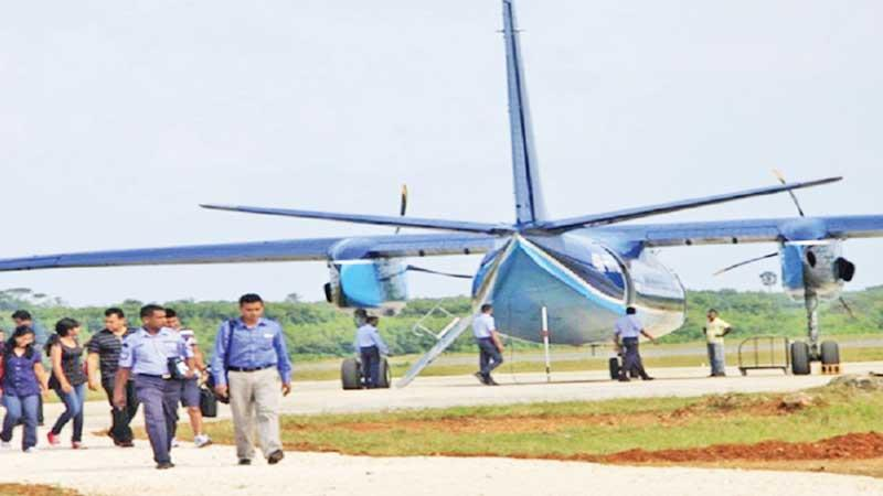 Development work on the Palali airport is due to be completed in October.