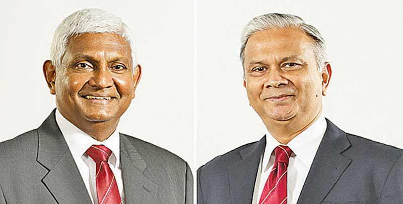 Chairman R. Renganathan and CEO Thushara Ranasinghe