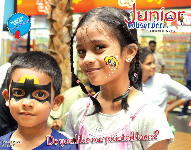 Do you like our painted faces?