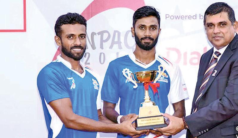 Nuwan Indika and Buddhika Indrapala share the top award