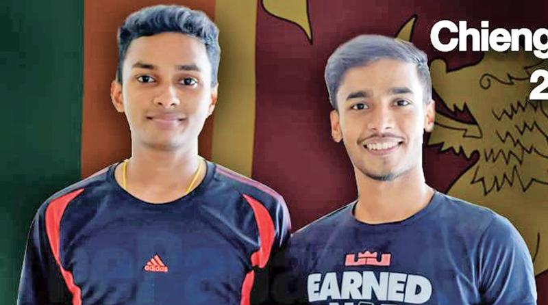 Ravindu Laksiri and Shamil Wakeel